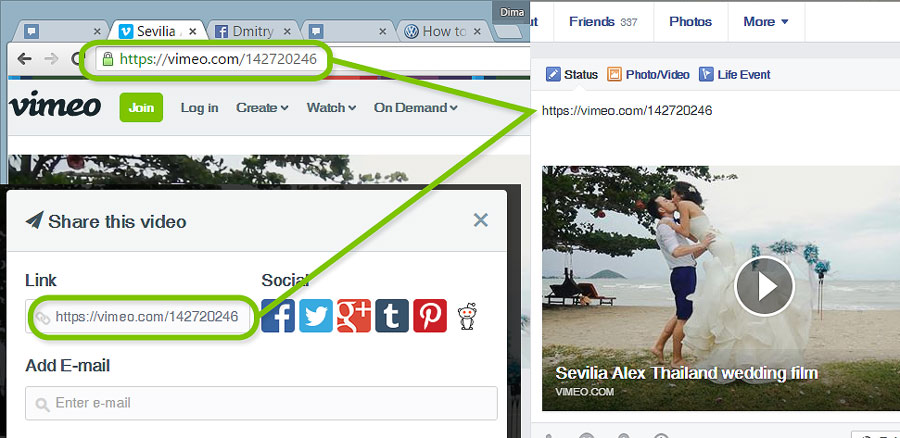 How to download videos from Vimeo to Facebook   Videola